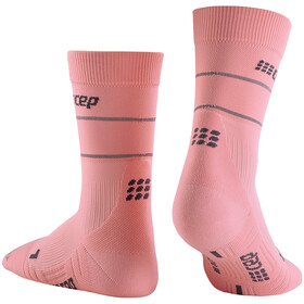 cep Reflective Mid Cut Socks Women, rosa